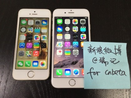 Images and Video of the new iPhone 6 leaked early