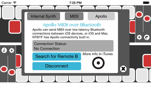 Apollo MIDI interface with your Mac is an incredible feature.