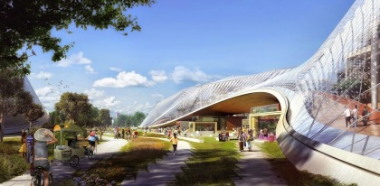 Google New Headquarters Revealed – Looks a Great Combination of Nature and Tech