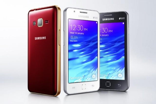 samsung z1 with tizen