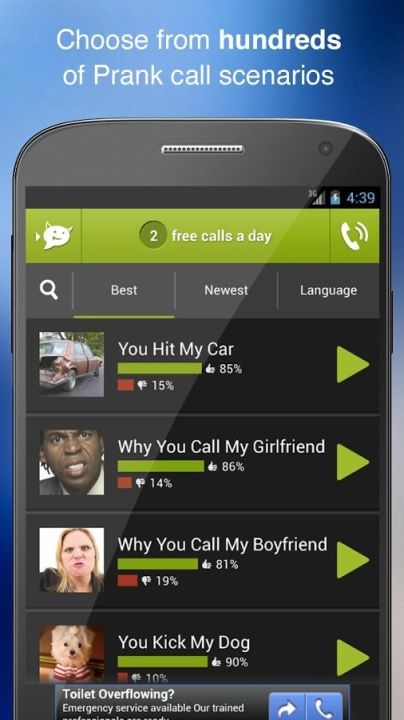 Android Prank App