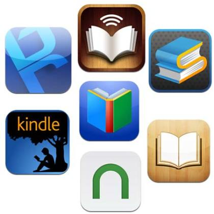 eBook or eReader Apps for Android Smartphone and Tablet users