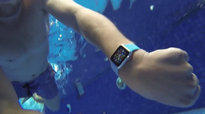 waterproof apple watch