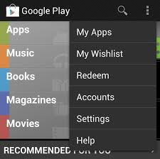google store apps