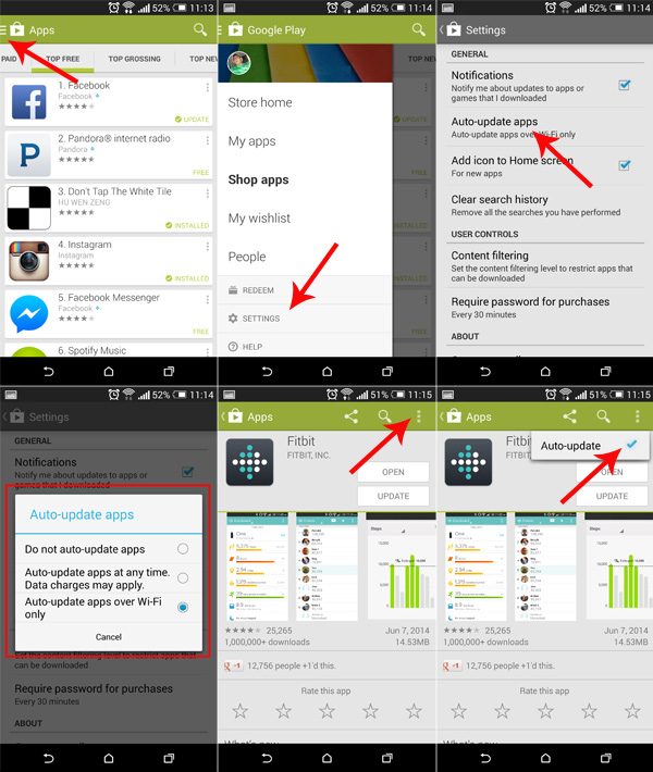 Enable-Disable-Auto-Update-Android-apps