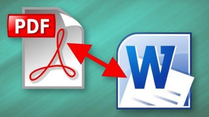 The number one pdf to word converter in our time