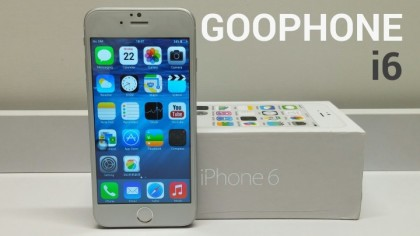 The Goophone i6 may be for you if all you want is the look of the newest Apple device