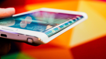The Samsung Galaxy Edge, the First Bent-Display Phone, Coming Soon