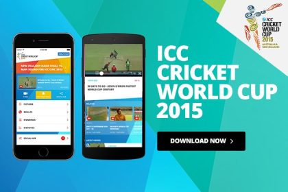 ICC Cricket World Cup 2015 App – A Great Launch for Cricket Lovers