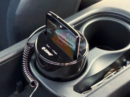Now recharge your Smartphone with Wireless charging device for the car