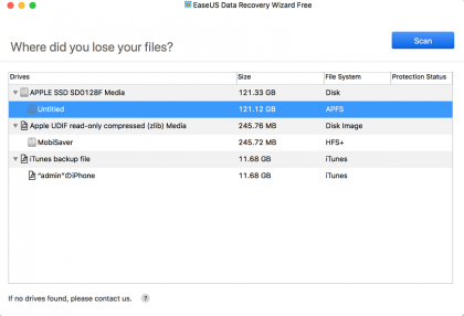 EaseUS Data Recovery – Best Free Recovery Software for Mac